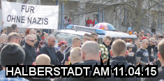 Halberstadt am 11.04.2015 - Foto von Lucas Beyer